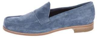Pierre Hardy Round-toe Suede Loafers