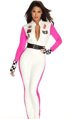 Forplay Seductive Speed Jumpsuit, Gloves, Belt