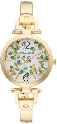Laura Ashley Lifestyles Women's Avery Garden Watch