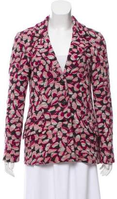 Missoni Patterned Wool Blazer
