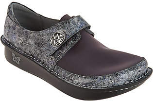 Alegria Dream Fit Leather & Neoprene Slip-ons- Dena