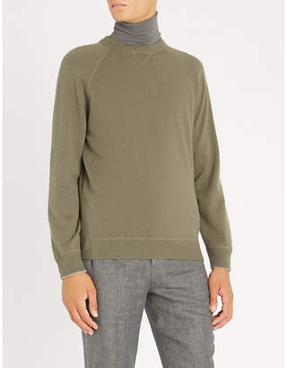 Brunello Cucinelli Crewneck cashmere-blend jumper