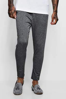 boohoo Wide Pinstripe Tailored Jogger