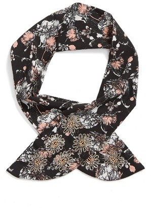 Women's Collection Xiix Pretty In Floral Neckerchief $24 thestylecure.com