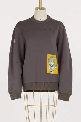 Chloé Patch sweatshirt