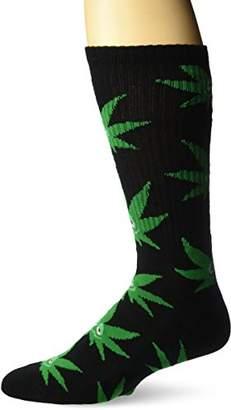 HUF Men's Green Buddy Crew Socks