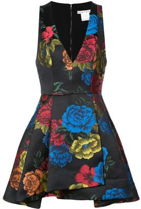 Alice + Olivia Alice+Olivia floral print short dress