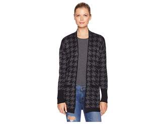 Elliott Lauren Reality Check Open Cardigan with Two-Pockets