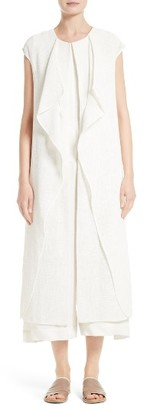 Women's Zero + Maria Cornejo Ora Technical Gauze Vest $1,150 thestylecure.com
