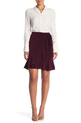 ECI Solid Ruffle Skirt