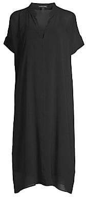 Eileen Fisher Women's Sheer Silk Georgette Dress