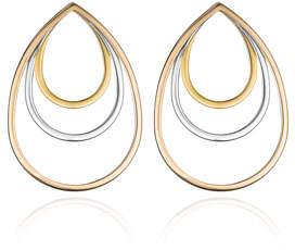 Vita Fede Sophia Concentric Teardrop Earrings