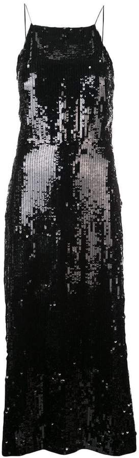 Collection sequinned cocktail dress