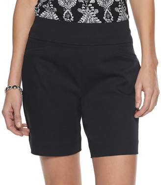 Croft & Barrow Women's Effortless Stretch Pull-On Shorts