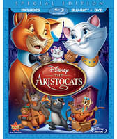 Disney The Aristocats - 2-Disc Combo Pack - Blu-ray Packaging
