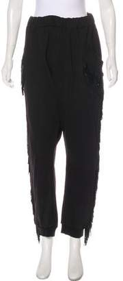 Baja East High-Rise Straight-Leg Pants
