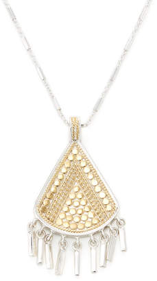 Anna Beck Jewelry Triangle Bar Fringe Necklace