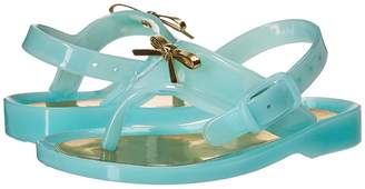 Baby Deer First Steps Jelly Thong Sandal with Bow Girls Shoes