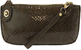 Joy Susan Mini Crossbody Wristlet Clutch Python