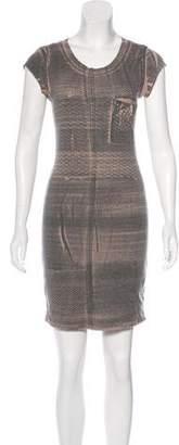 Raquel Allegra Printed Mini Dress