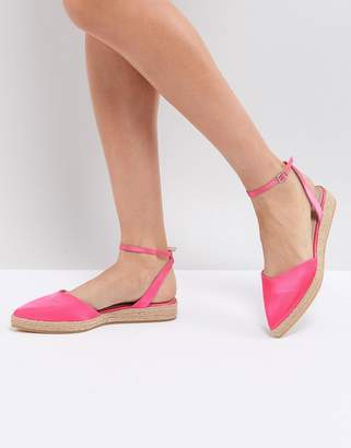 Asos DESIGN JASLEEN Point Espadrilles