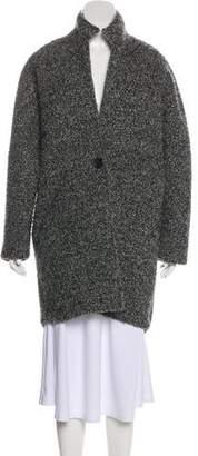 Isabel Marant Knee-Length Fleece Coat