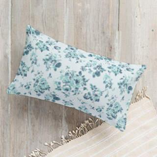 Rose Garden Lumbar Pillow