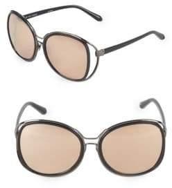 Linda Farrow Luxe 60MM Square Sunglasses