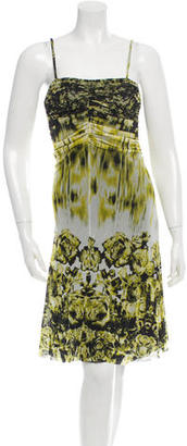Jean Paul Gaultier Ruched Midi Dress $145 thestylecure.com