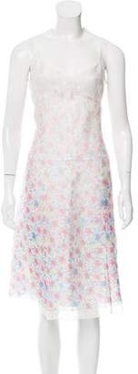 Marc Jacobs Silk Floral Print Dress