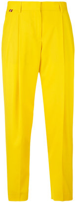 Paul Smith straight pleated trousers $395 thestylecure.com