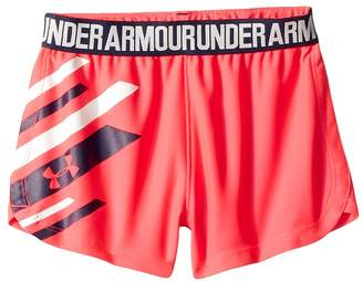 Under Armour Kids Graphic Play Up Shorts Girl's Shorts