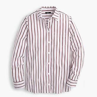 J.Crew Classic-fit boy shirt in trifecta stripe