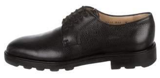 Salvatore Ferragamo Leather Derby Shoes black Leather Derby Shoes