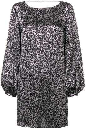 Equipment Zipporah leopard print dress