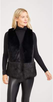 J.Mclaughlin Allegra Faux Fur Vest