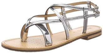 Geox Women's Sozy 21 Flat Sandal