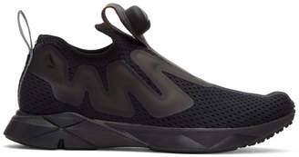 Reebok Classics Black Pump Supreme Tape Sneakers