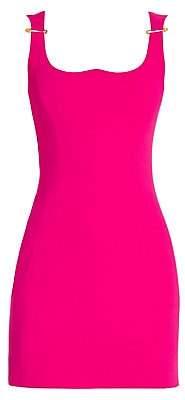 Versace Women's Sleeveless Pin Strap Dress
