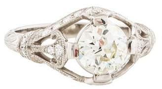 d Collection Sophia Platinum 1.68ctw Diamond Engagement Ring