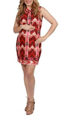 24/7 Comfort Apparel Charley Maternity Dress