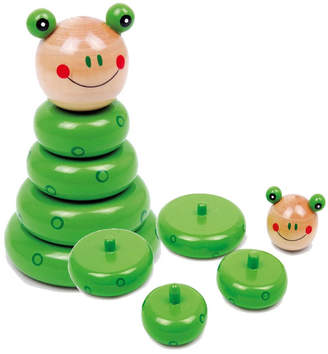 Little Baby Company Wooden Stacking Puzzle Building Frog