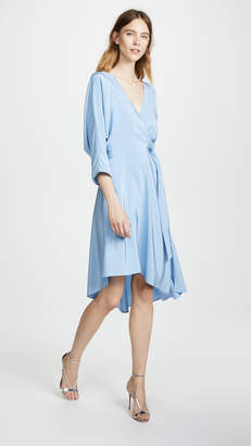Diane von Furstenberg Asymmetrical Hem Dress