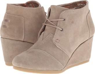 Toms Desert Wedge Boot 10006257 Womens 8.5