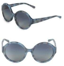 Michael Kors 55MM Round Sunglasses