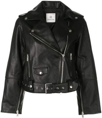 Anine Bing remy leather jacket