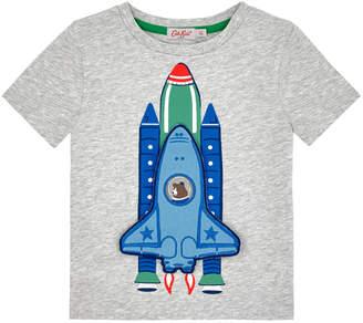 Cath Kidston Kids Short Sleeve Rocket Tshirt