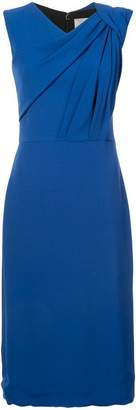 Jason Wu ruched detail sleeveless dress