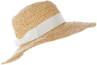 Kate Spade `Just married` straw hat