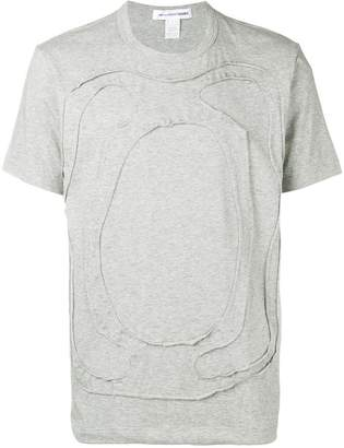 Comme des Garcons cut-out T-shirt
